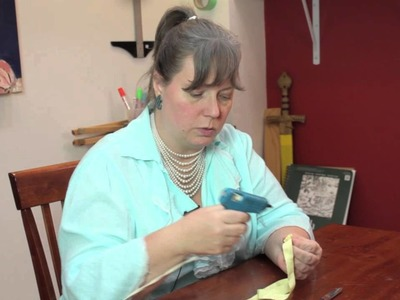 How to Make a Fabric Rolled Flower : Jewelry & Other Cool Crafts