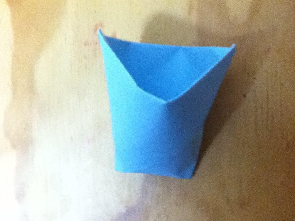How to Make a Paper Cup - Origami Cup - Step by Step Instructions - Easy Folds - Cup Will Hold Water