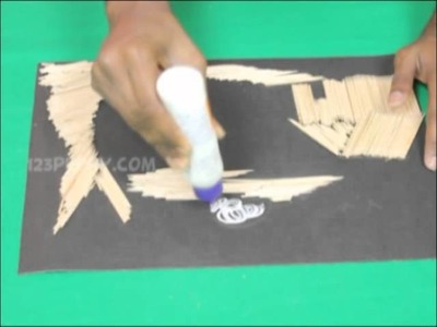 How to Make a Toothpick Art