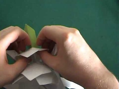 How to make an origami lotus flower 2.2
