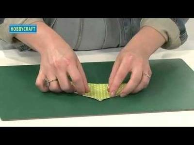 HOW TO MAKE ORIGAMI CHRISTMAS TREE CARDS by Hannah Read-Baldrey