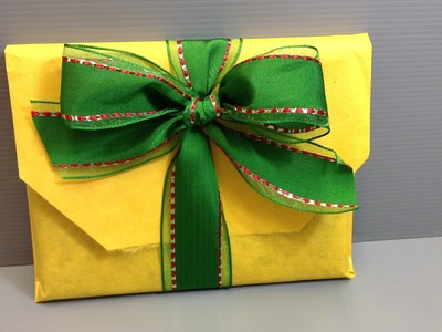 How to Wrap a Blu-Ray Disc for the Holidays - Origami Wrapping