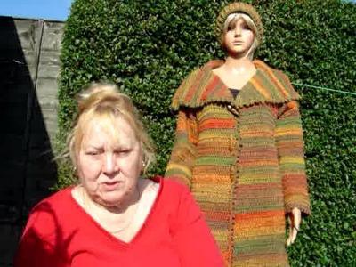James C Brett crochet jacket and Inside Crochet magazine