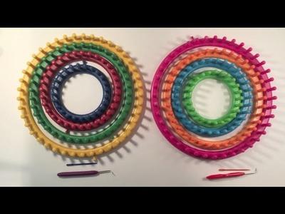 Knifty Knitter VS Boye Round Loom