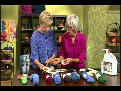 Knitting Daily TV Episode 612's How-To Segment with Deb Robson, Unicorn Fibre