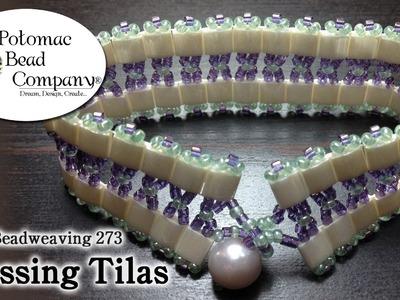 Make a 'Crossing Tilas' Bracelet