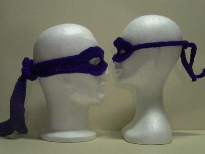 Ninja Mask - Child - Crochet Tutorial