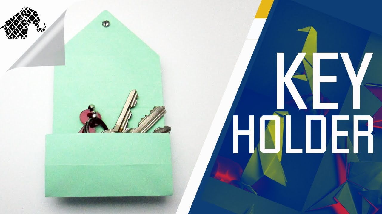 Origami - How To Make An Origami Key Holder Box