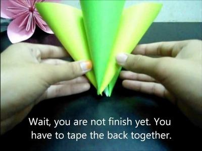 Origami Kusudama Flower