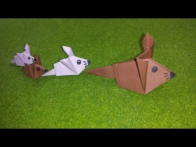 Origami Mouse (Easy)