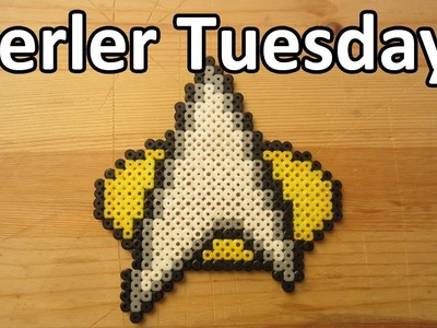PERLER BEAD: Star Trek Insignia! (Giveaway #64) Tutorial & How To