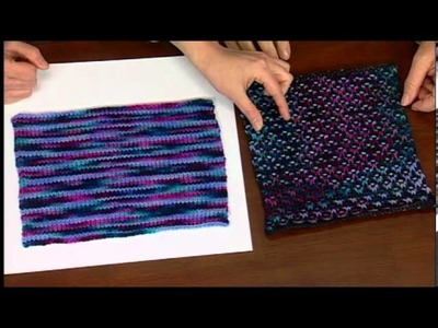 Random Color Knitting, Free North Star Hat pattern with Laura Bryant, from KDTV Episode 1112