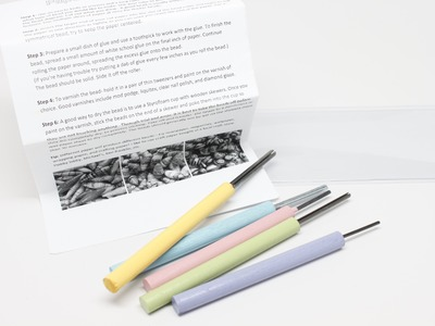 Review of the Paper Bead Roller Tool and how to use it