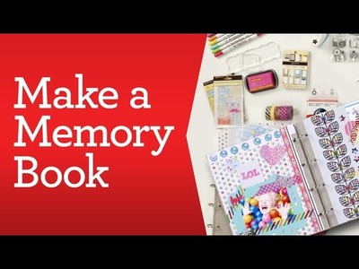 Scrapbooking Basics: Make a Memory Book