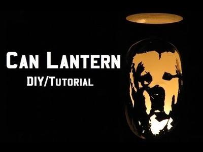 Soda. Beer Can Lantern - DIY Tutorial