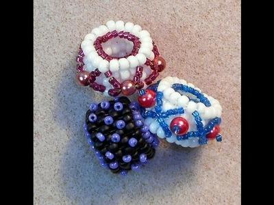 Square Stitch Beads