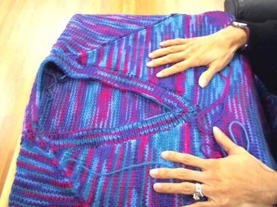 Tii Casa Knitting Tip - Joining Raglan Sleeves
