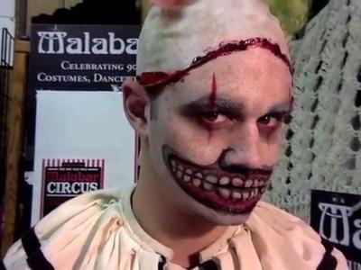Twisty the Clown DIY Mask Tutorial