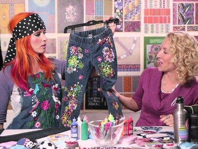 Virtual Teacher - Grab a Scab Crafts with Tiffany of Glitter Pie EPS10