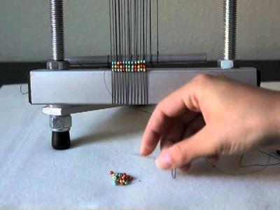 Weaving Beads on a Mirrix Loom