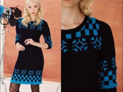 #11 Dress and Socks, Vogue Knitting Holiday 2013