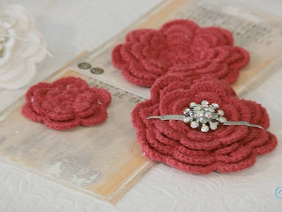 Arts & Crafts Tutorial: How to make a Doiley Brooch