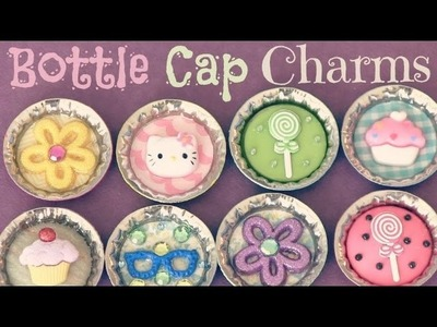 BOTTLE CAP pins, magnets & charms - How To - Recycle