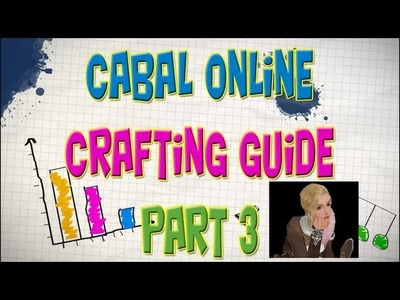 Cabal Online - Crafting Guide Episode 9 (Part 3) Chloe's Crafting House & The Basics
