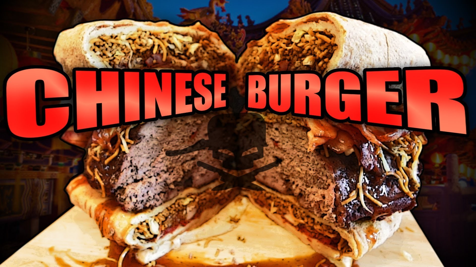 Chinese Burger - Epic Meal Time