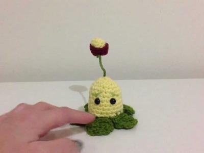 Crochet Plants VS Zombies Kernel-pult pattern