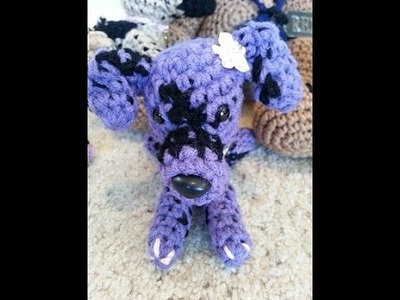 Crochet Quick and Easy Beginner Amigurumi Puppy Dogs DIY Tutorial