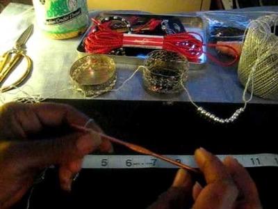 Crochet w.me a Thong Ring Bracelet pt 1 of 4