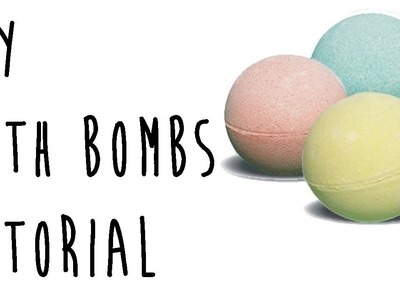 DIY Bath Bombs Tutorial | OliviaMakeupChannel
