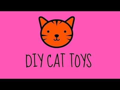DIY Crafts - How to Make Cat Toys from Paper Rolls