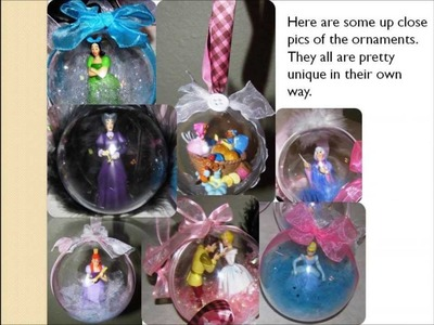 DIY Disney Christmas Ornaments