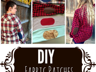 DIY Fabric Patches | Owlbeteen