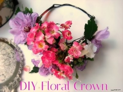DIY Floral Crown - Easy Tutorial !