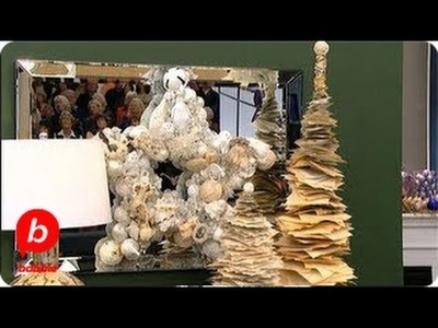 DIY Paper Christmas Tree Decoration | The Live Well Network | Babble
