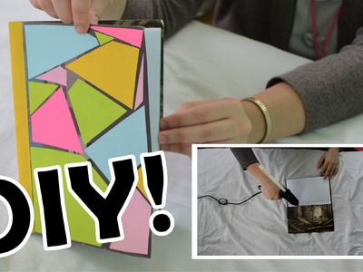 DIY Paper Notebook! Easy, Fast, Recycled!