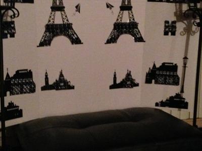 DIY: PARIS THEME ROOM DECOR VIDEO BACKGROUND