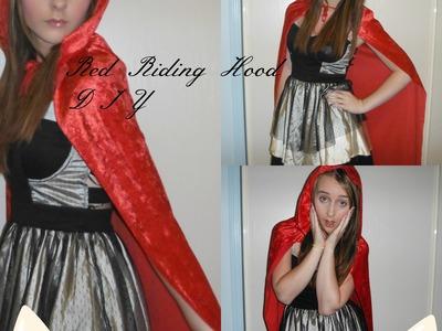 DIY Red Riding Hood Halloween Costume