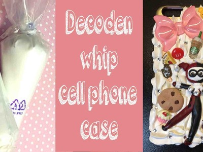 DIY Whip Cell Phone Case