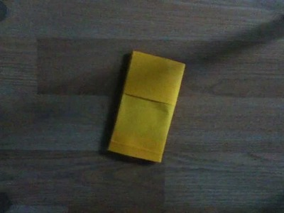 Easy DIY Origami iPod Touch Sleeve + Card Holder