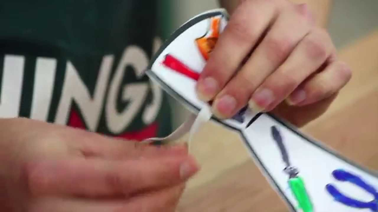 Fathers Day Gift Ideas - Bunnings DIY Tie Card