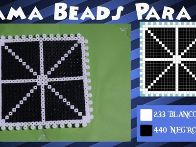 Fondo.Posavasos Caja - Tutorial Hama Beads