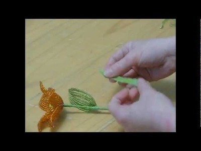 French Beaded Flowers - Lesson 3 - Continuous Loops, Flower Assembly, Reading a Pattern