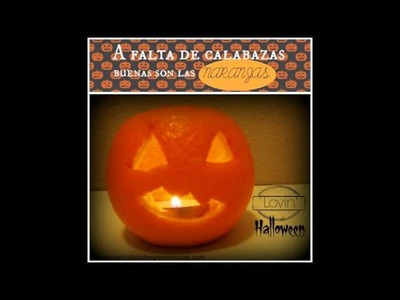 Halloween DIY: 5 Ideas de decoración.5 Halloween crafts & ideas