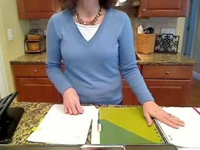 How To Assemble a DIY Planner with GO MOM!