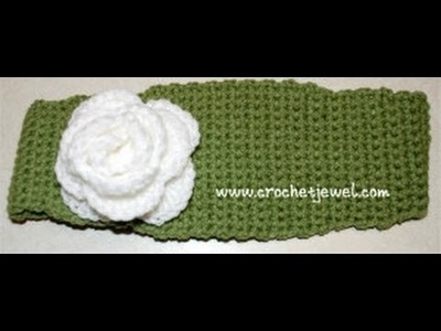 How to Crochet a Headband Part I