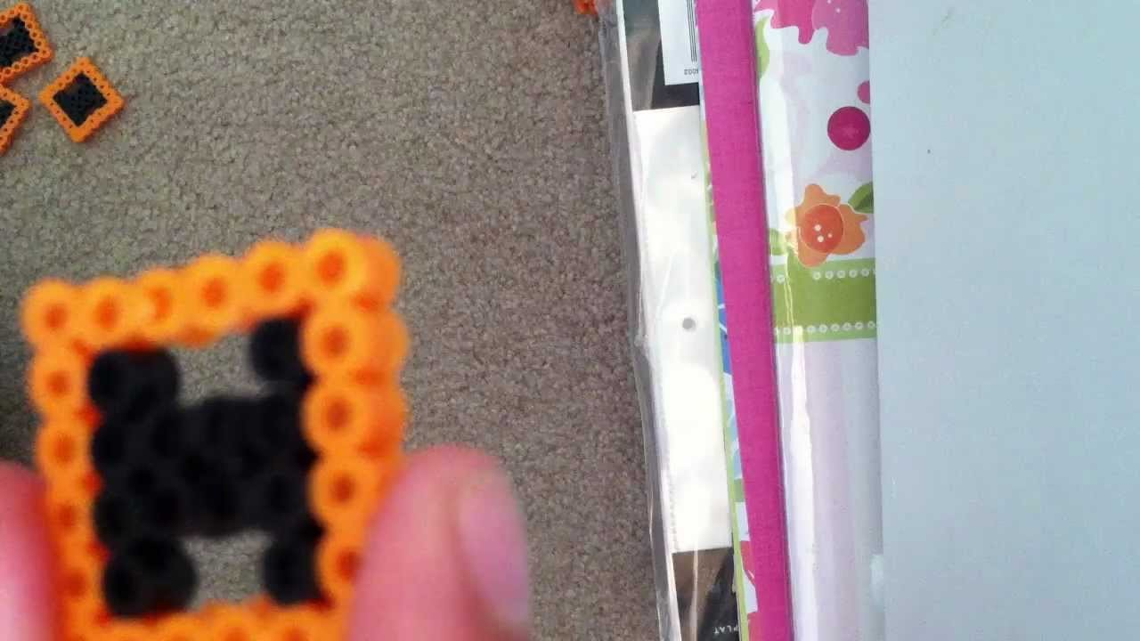 How to make a 3D cube out of perler beads